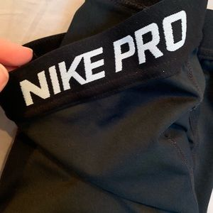 Nike pro leggings. Worn and washed once. Size med